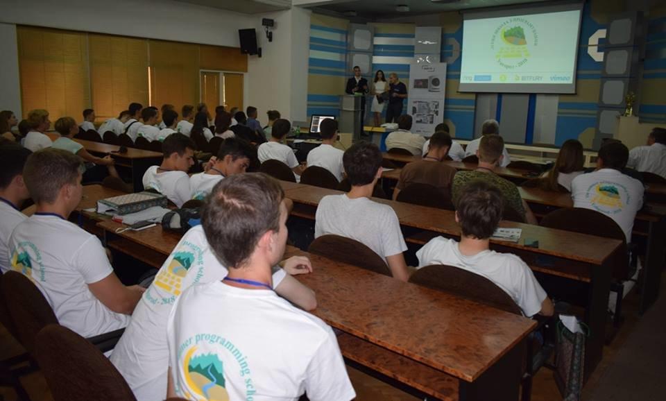 Молоді програмісти з вишів України та Грузії: в Ужгороді стартувала Літня школа з програмування (ФОТО), фото-16