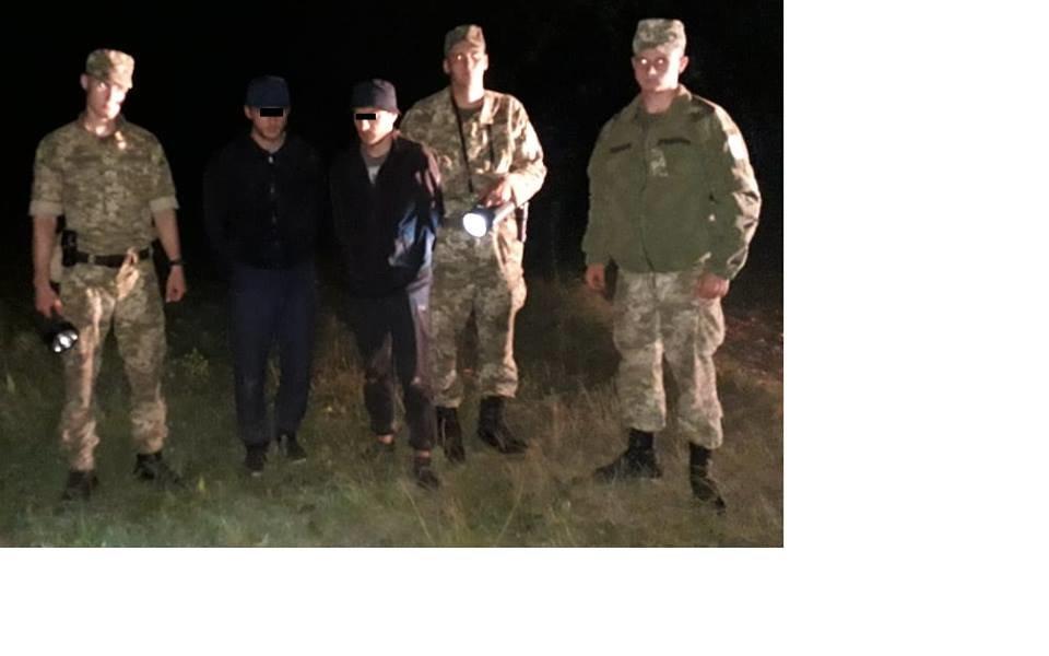 На Закарпатті на кордоні з Угорщиною затримано 2-х нелегалів-чеченців (ФОТО), фото-1