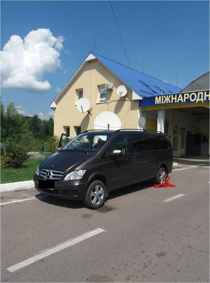 """Викрадені в Румунії та Польщі: на Закарпатті затримали розшукувані Інтерполом """"Audi Q7"""" та """"Mercedez-Benz"""" (ФОТО), фото-3"""