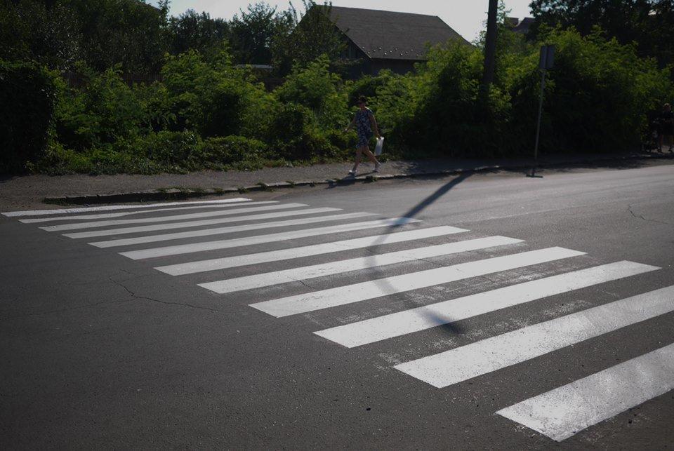 В Ужгороді до навчального року оновлюють пішоходні переходи (ФОТО), фото-1