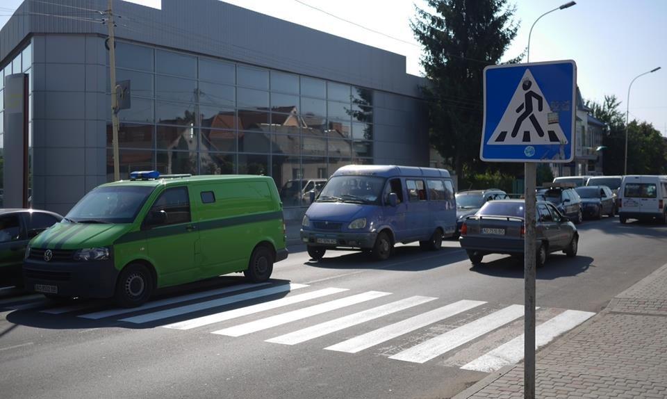 В Ужгороді до навчального року оновлюють пішоходні переходи (ФОТО), фото-2
