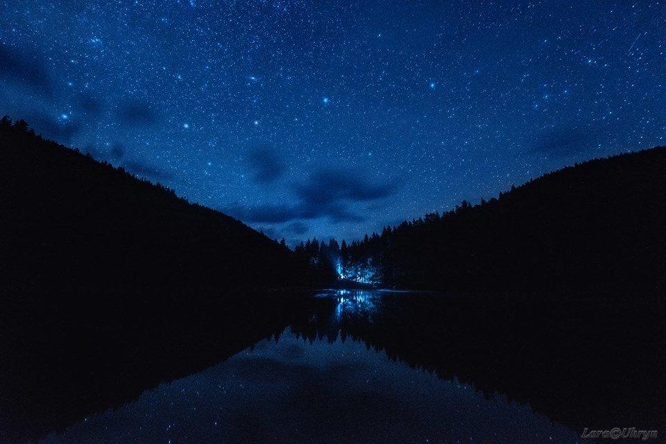 Зорепад Персеїд над озером Синевир у виконанні ужгородських фотографів (ФОТО), фото-6