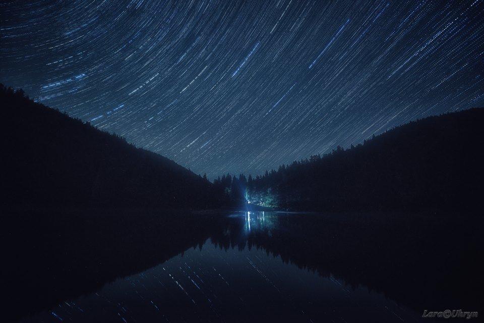 Зорепад Персеїд над озером Синевир у виконанні ужгородських фотографів (ФОТО), фото-13