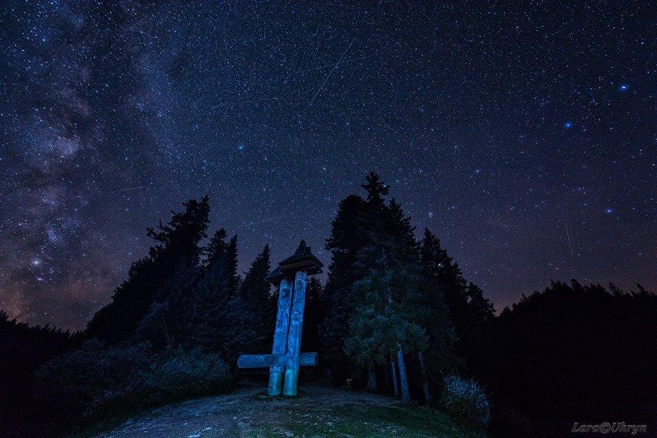 Зорепад Персеїд над озером Синевир у виконанні ужгородських фотографів (ФОТО), фото-11