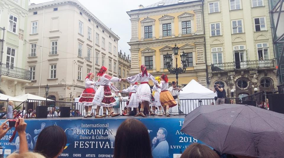 Фольклорно-етнографічний ансамбль «Ужгород» виступив на Міжнародному Фестивалі у Львові (ФОТО), фото-1
