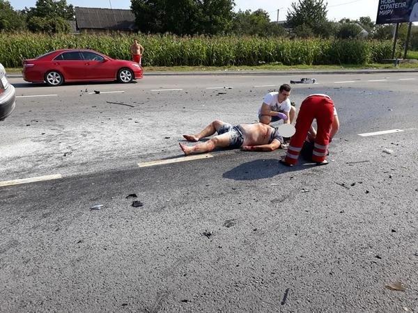 Священик із Закарпаття показав фотографії з місця жахливої аварії, в яку він потрапив під Львовом , фото-2