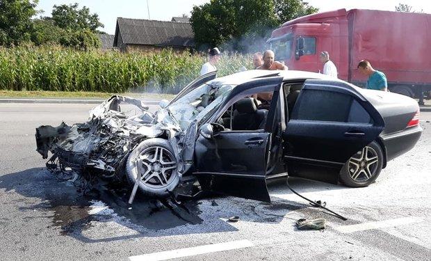 Священик із Закарпаття показав фотографії з місця жахливої аварії, в яку він потрапив під Львовом , фото-4