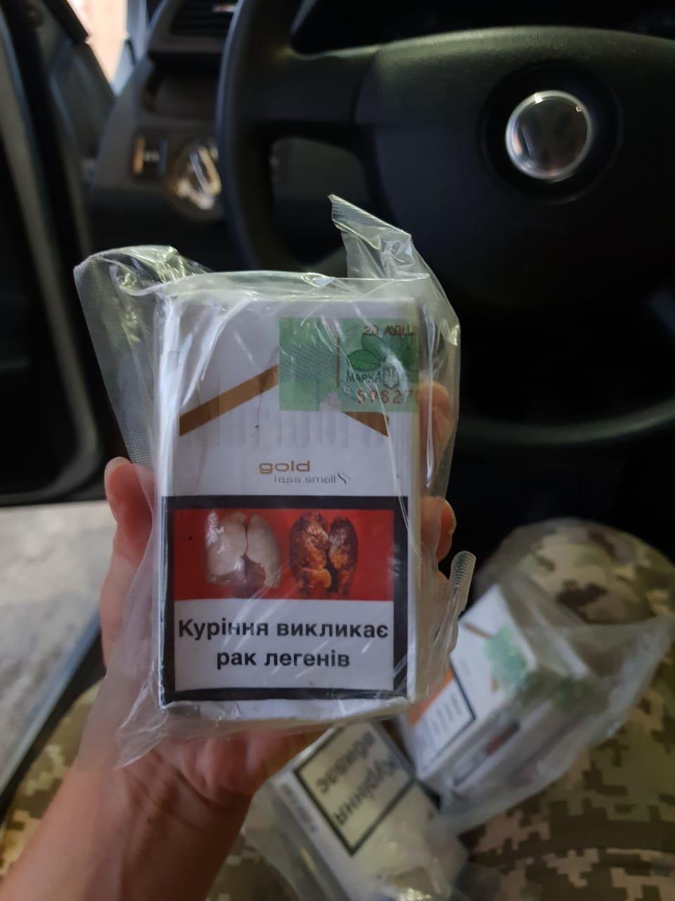 """На кордоні Закарпатті у чоловіка забрали """"Фольксваген"""" за 50 000 через 250 пачок цигарок (ФОТО), фото-4"""