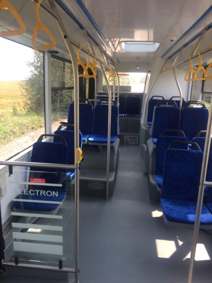 """В Ужгороді через 2 тижні їздитимуть 10 нових автобусів """"Електрон"""" синього кольору (ФОТО), фото-5"""