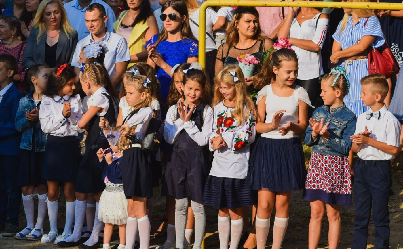 Перший раз у перший клас: Ужгород святкує 1 вересня (ОНОВЛЕНО, ФОТО), фото-20