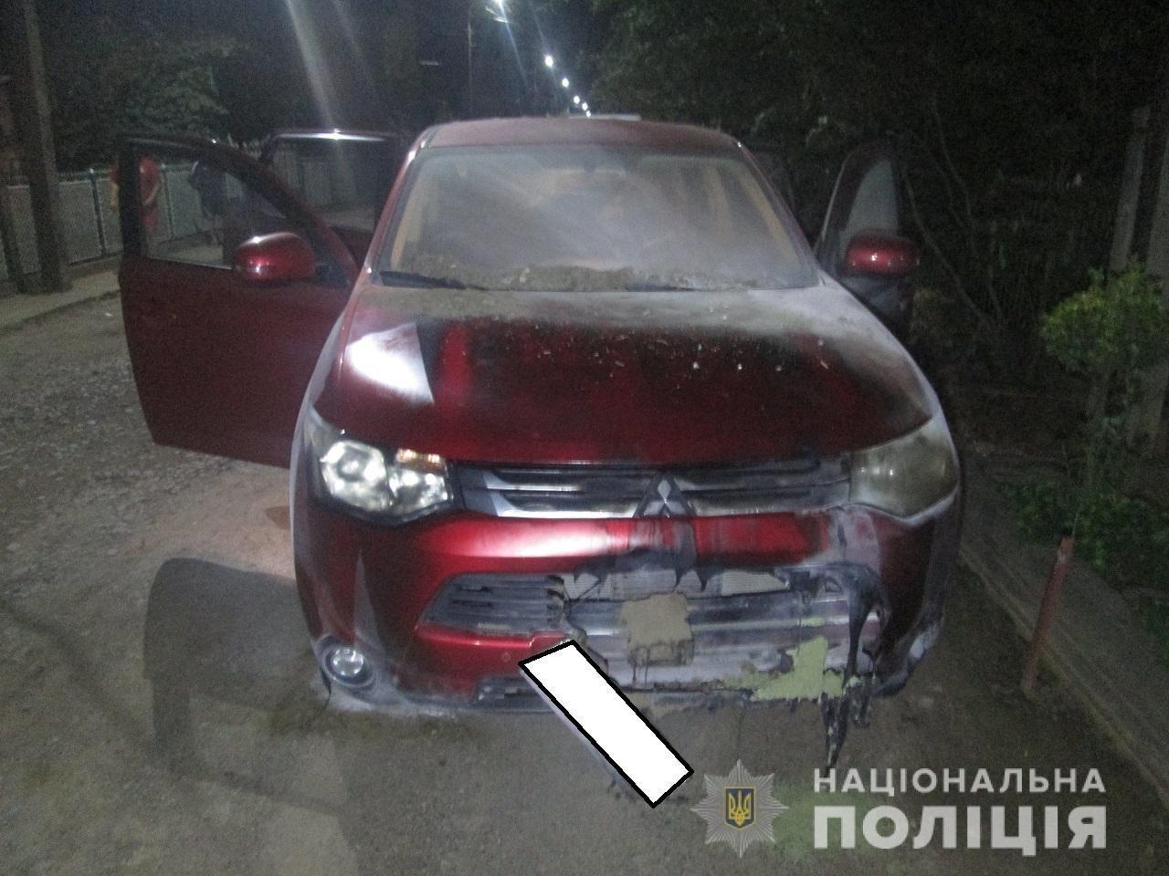 В Коломиї знову горів автомобіль