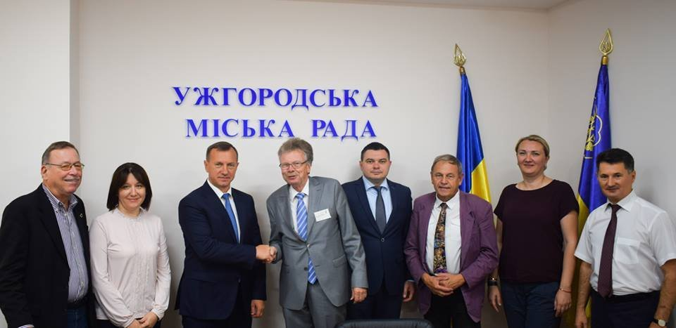 В Ужгороді відбулась зустріч мера із делегацією з Дармштадту, міста-побратима Ужгорода (ФОТО), фото-3