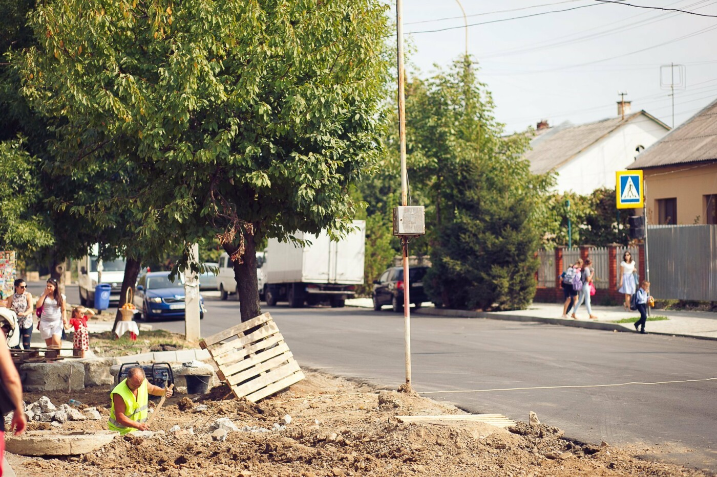 """Мерія сходить з розуму: в Ужгороді біля """"Токіо"""" почали вирубувати здорові дерева (ФОТО) , фото-2"""