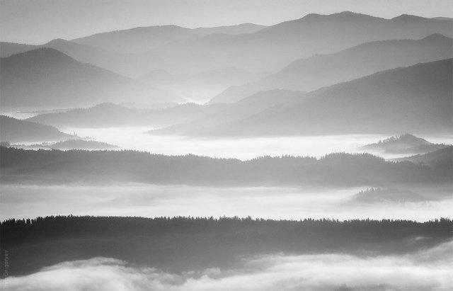Як виглядають українські Карпати в чорно-білому кольорі (ФОТО), фото-4