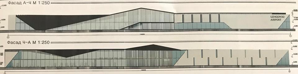 """Як буде виглядати оновлений аеропорт """"Ужгород"""" (ФОТО), фото-1"""