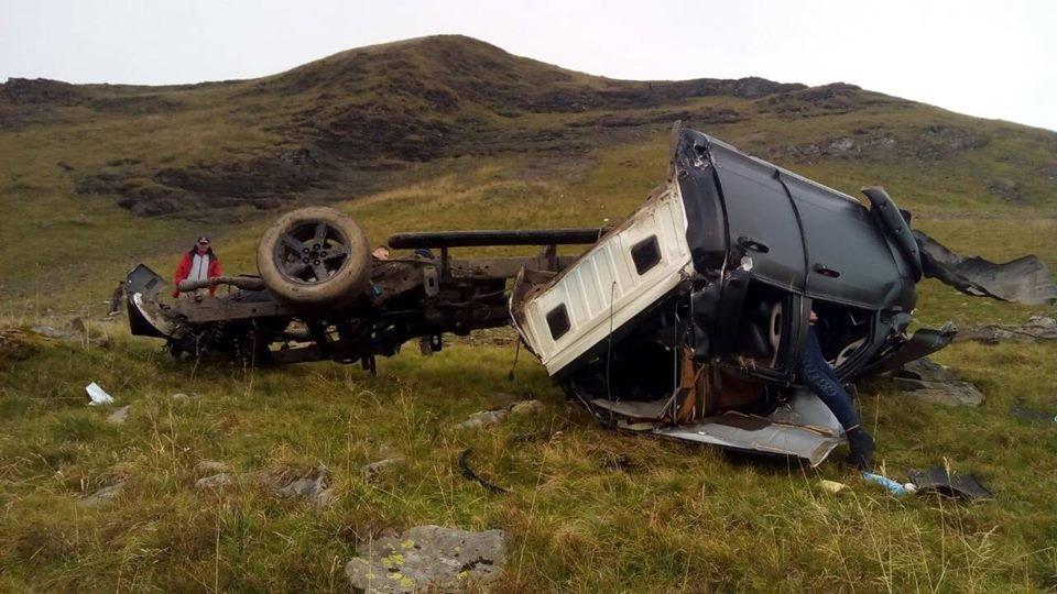 На Рахівщині з гори зірвався позашляховик: двоє киян, 48-ми та 27-ми років, загинули (ФОТО), фото-3