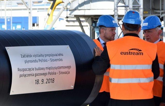 За 30 км від Ужгорода Польща починає будувати газопровід в Словаччину (ФОТО), фото-1