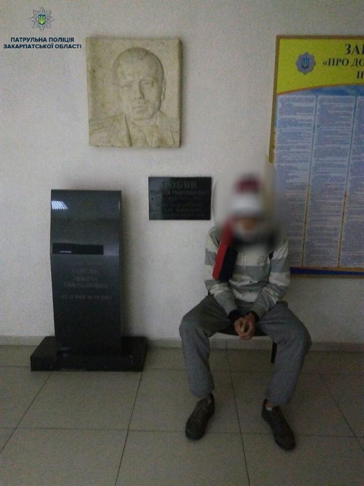 В Ужгороді на вокзалі затримали злочинця з іншої області (ФОТО), фото-1