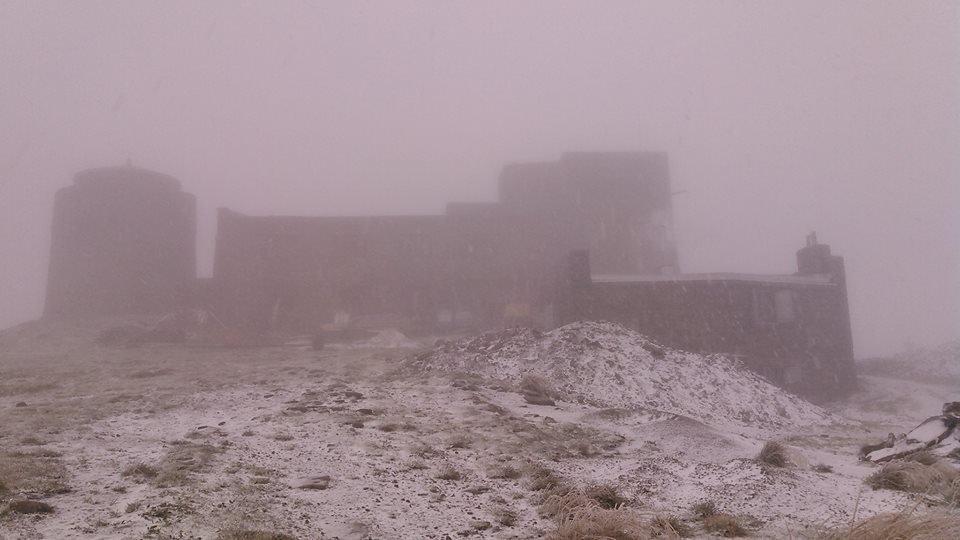 А на календарі осінь: на Закарпатті в горах випав сніг (ФОТОФАКТ), фото-1