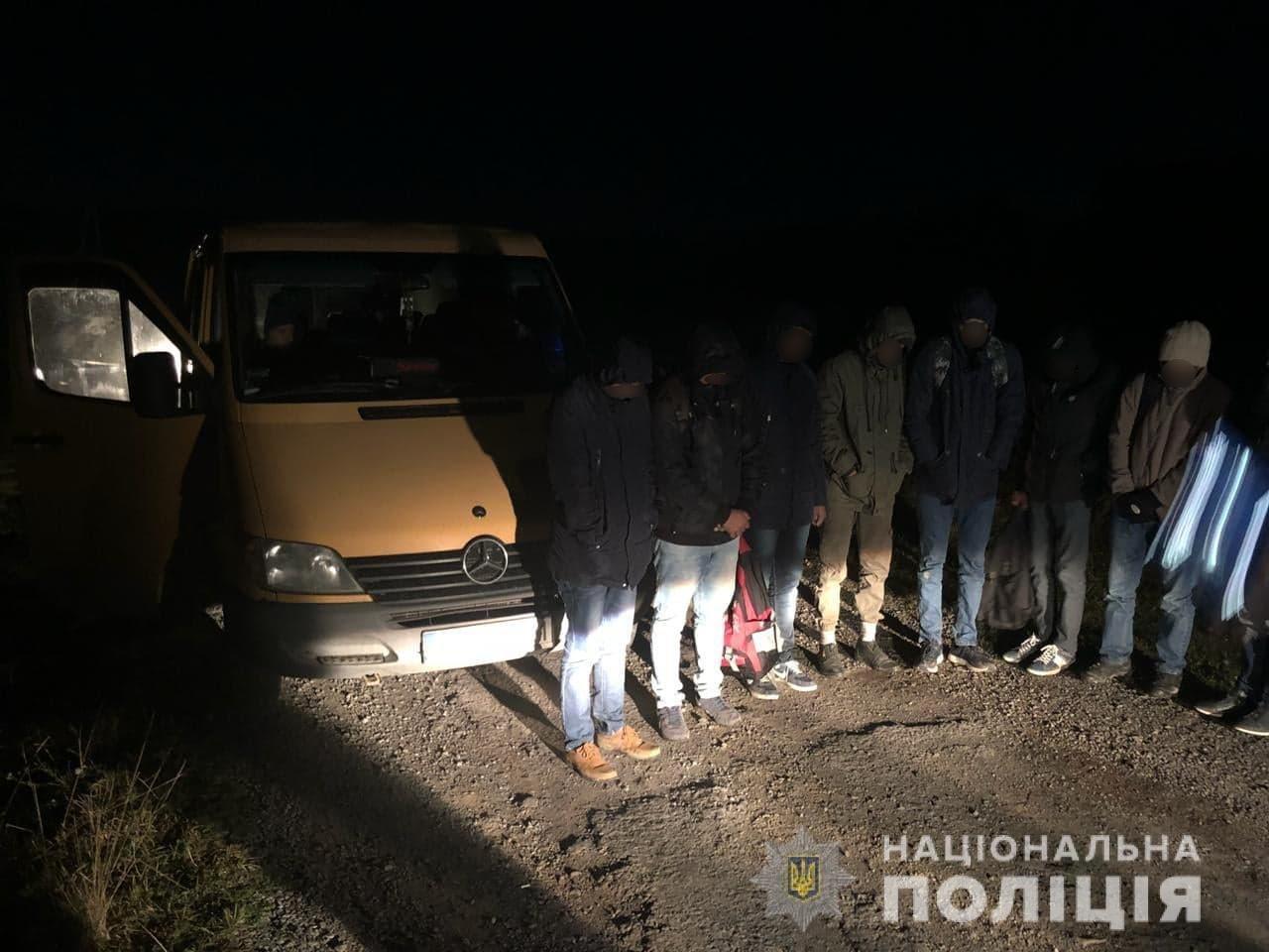Вісім нелегалів зловили закарпатські правоохоронці неподалік Ужгорода (ФОТО), фото-2