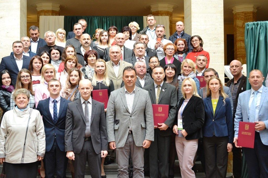 В Ужгороді роздавали відзнаки за вагомий внесок у розвиток туристичної галузі області (ФОТО), фото-1
