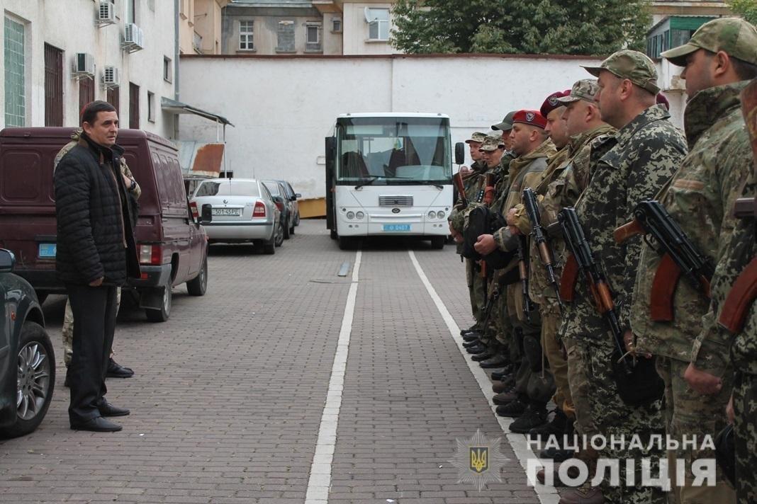 Закарпатські полісмени вирушили на Схід - до зони проведення ООС (ФОТО), фото-1