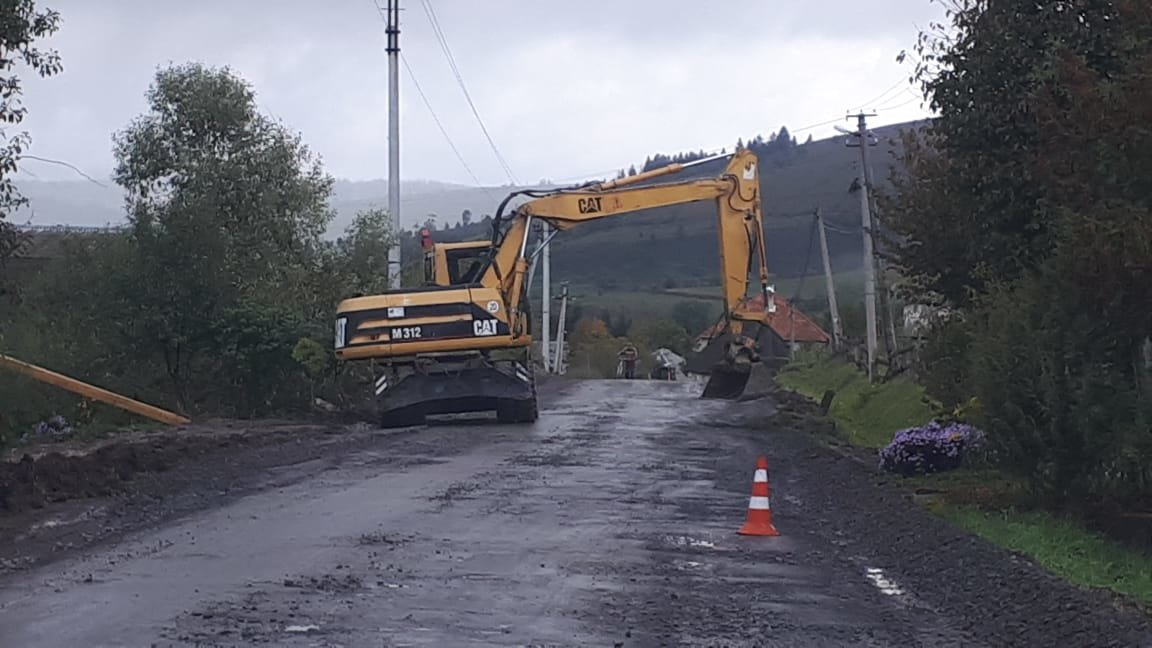 На дорозі, що веде до гірськолижних підйомників і водоспаду «Шипіт» розпочався капітальний ремонт (ФОТО), фото-1