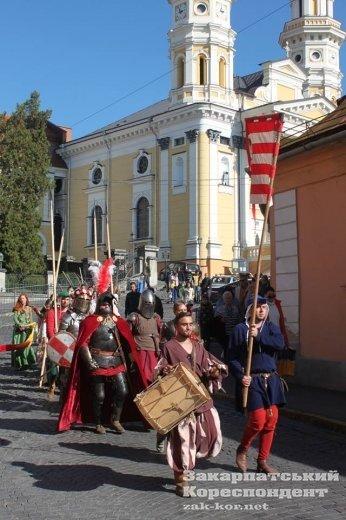 Ужгород на один день перетворився повернувся до Середньовіччя (ФОТО), фото-3