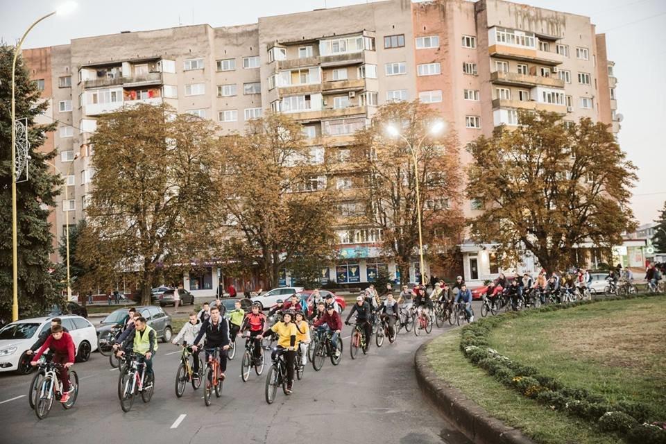В Ужгороді велосипедисти урочисто закрили велосезон 2018 (ФОТО, ВІДЕО), фото-7