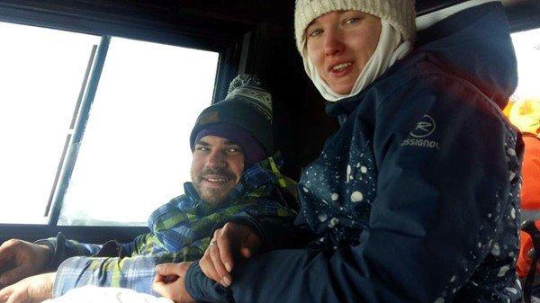 Три дні при 30-градусному морозі: врятована в Карпатах пара закоханих одружилась (ФОТО, ВІДЕО), фото-3