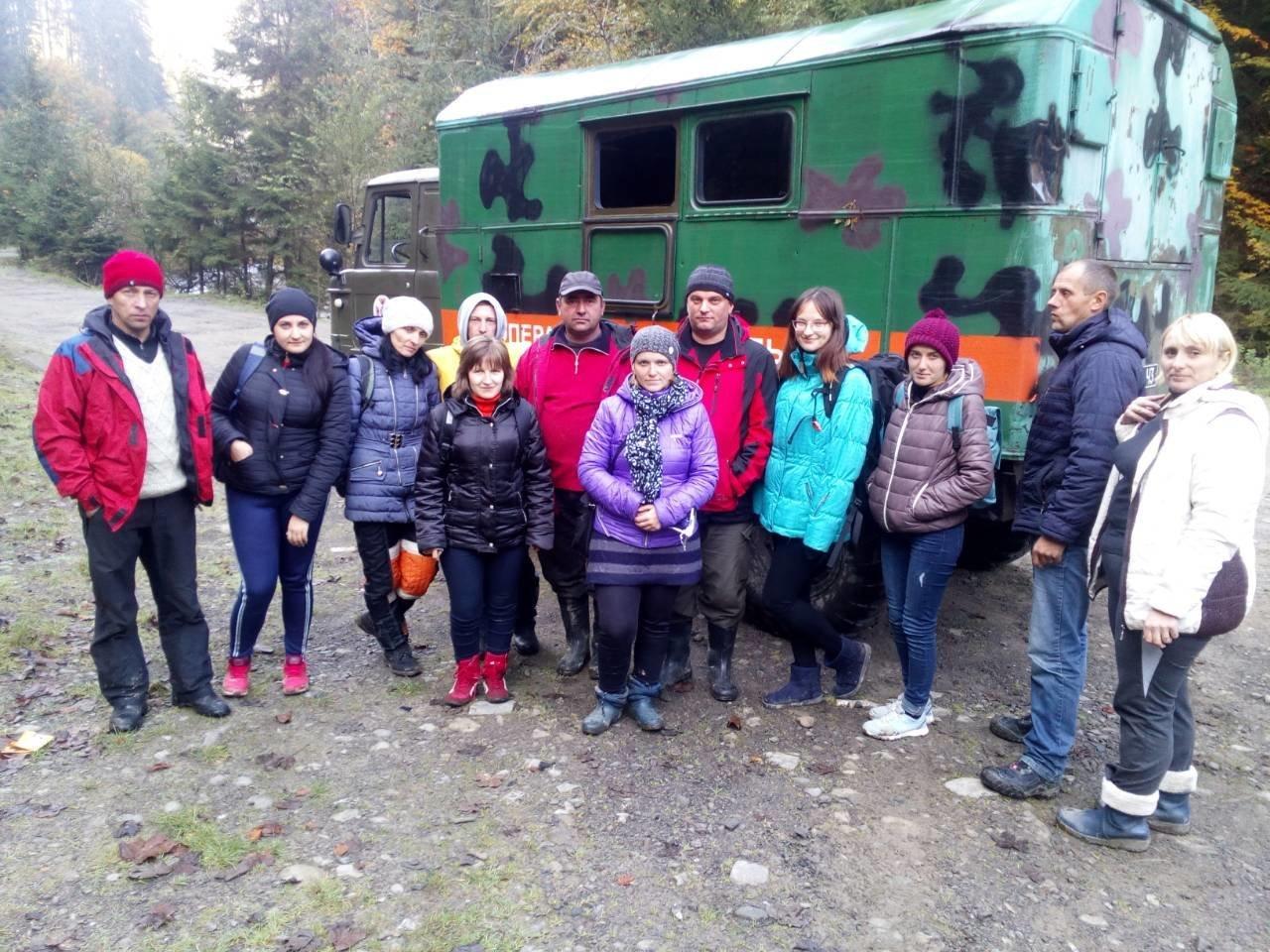 На Закарпатті під Говерлою шукали 8-х тернопільських вчителів (ФОТО), фото-1