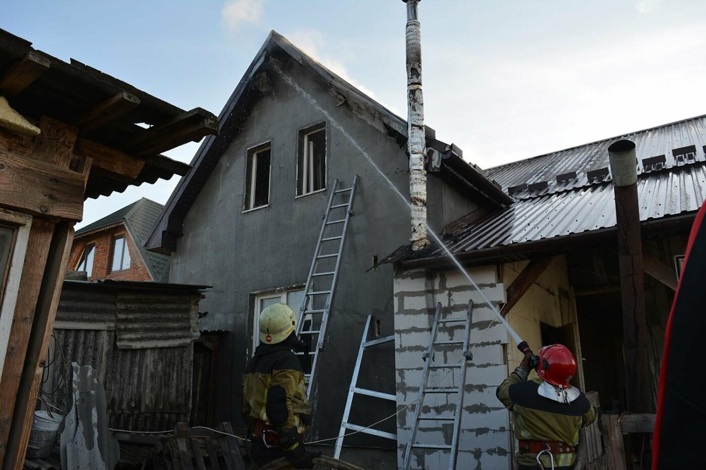 Ужгородські пожежники врятували приватний будинок від вогню (ФОТО), фото-2