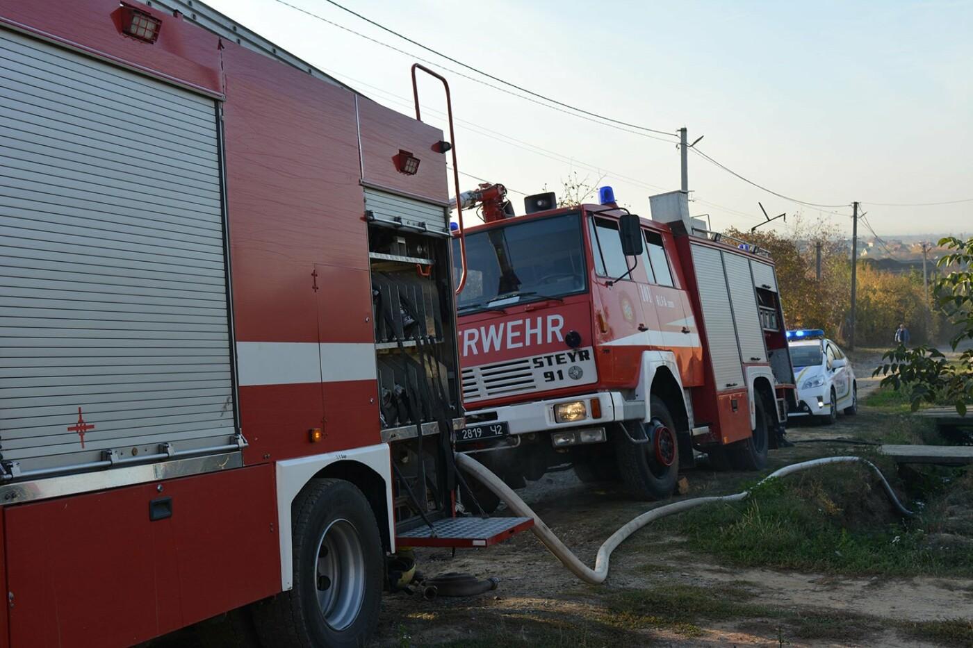 Ужгородські пожежники врятували приватний будинок від вогню (ФОТО), фото-4