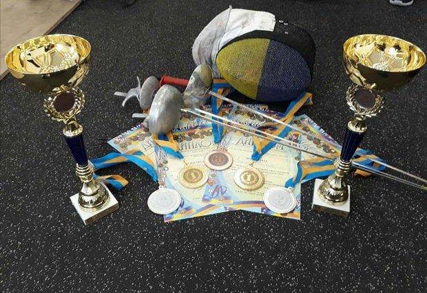 9 медалей вибороли закарпатці на Чемпіонаті України з фехтування на візках (ФОТО), фото-1