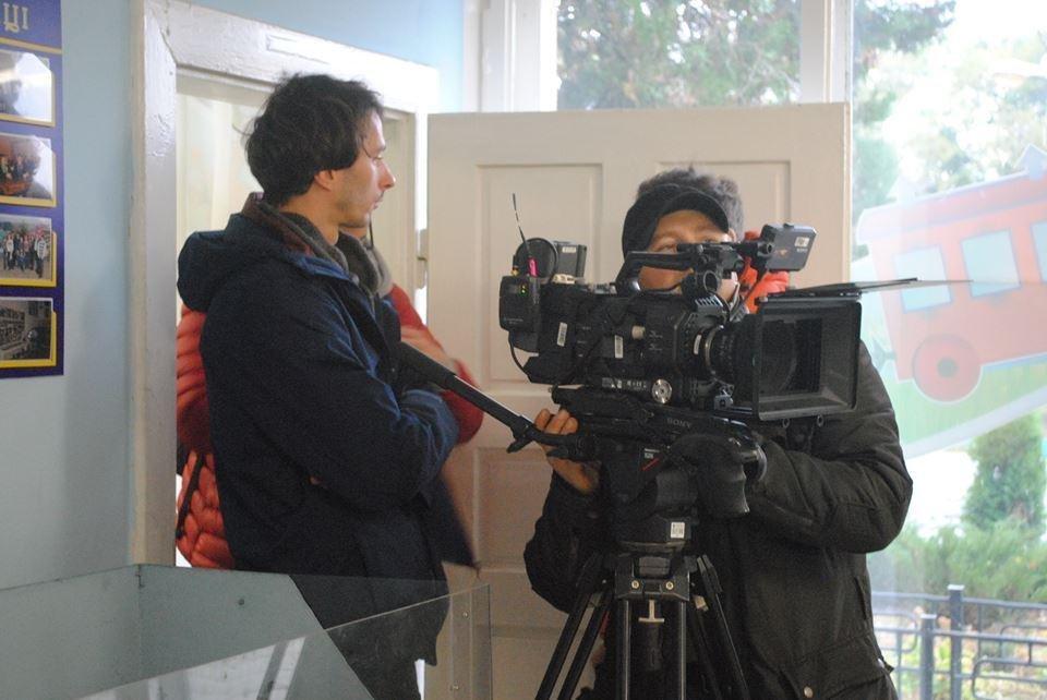 В Ужгороді знімають україно-швейцарський фільм про вузькоколійки (Фото), фото-4