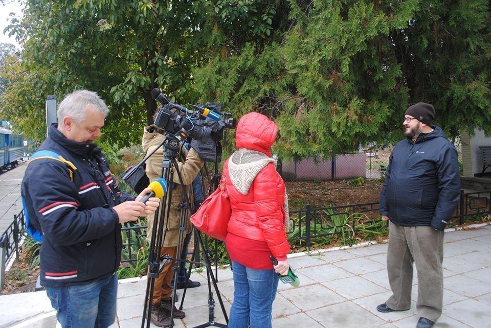 В Ужгороді знімають україно-швейцарський фільм про вузькоколійки (Фото), фото-7