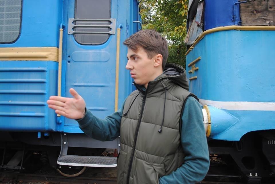 В Ужгороді знімають україно-швейцарський фільм про вузькоколійки (Фото), фото-6