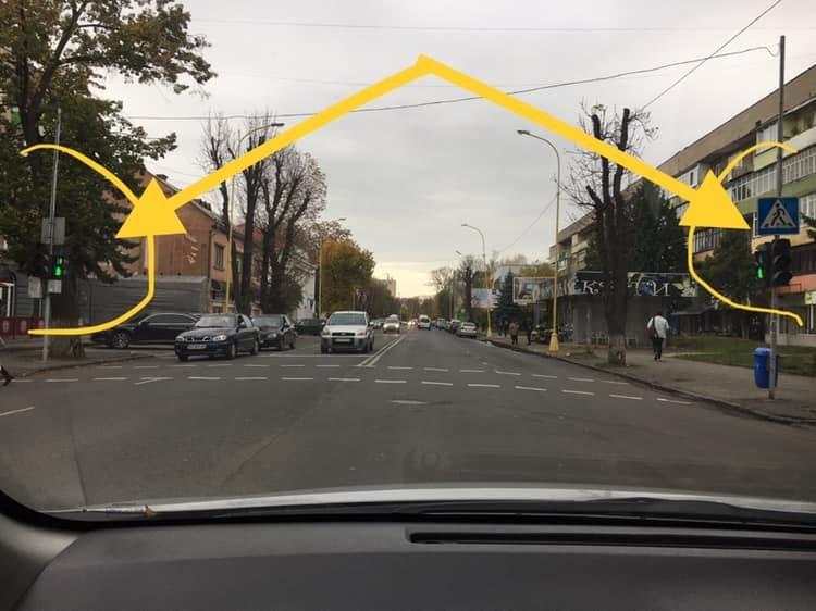 На вул. Л.Толстого в Ужгороді несправний світлофор наражає ужгородців на небезпеку (ФОТО), фото-1