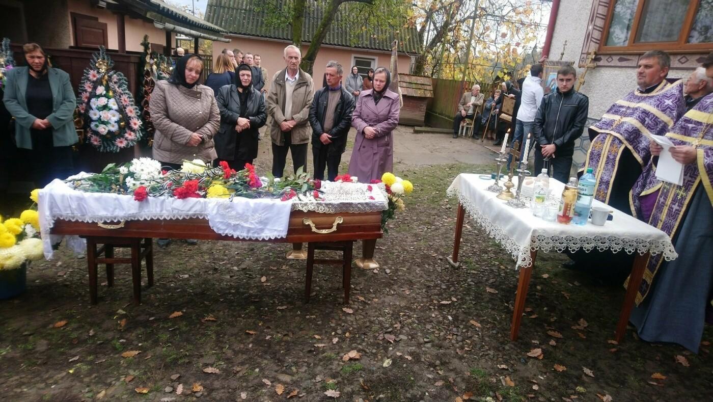 На Закарпатті провели в останню путь загиблого учасника війни на Сході України (ФОТО), фото-2