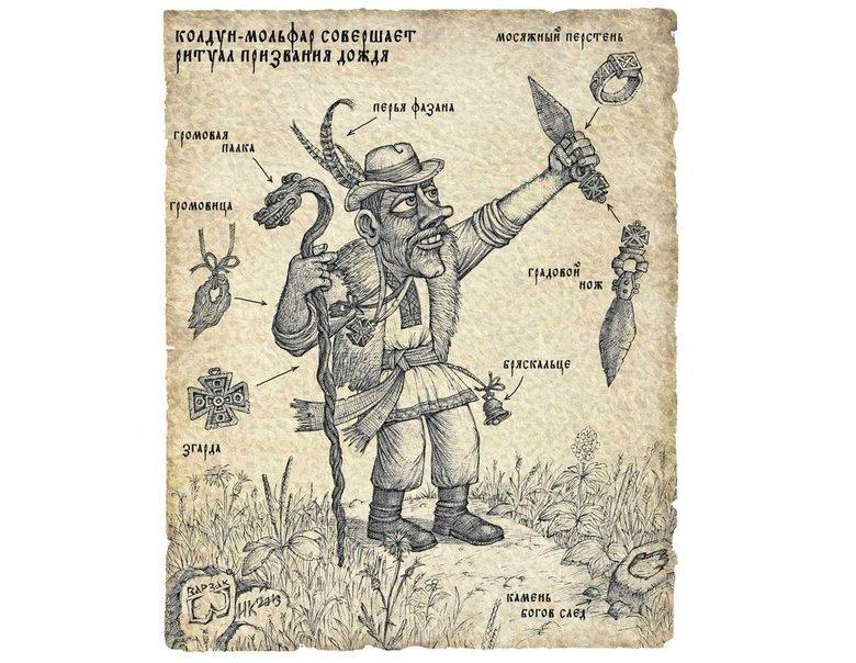 Містична підбірка: у які загадкові та страхітливі персонажі вірили закарпатці (ФОТО), фото-5