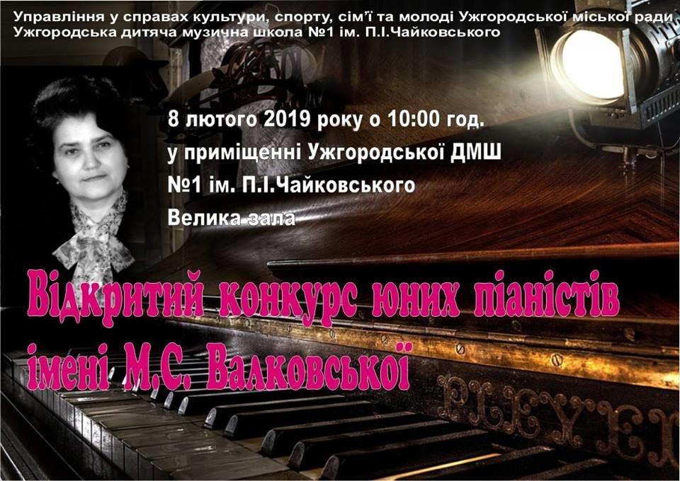 В Ужгороді відбудеться І Відкритий конкурс юних піаністів імені Маріанни Валковської (АНОНС), фото-1
