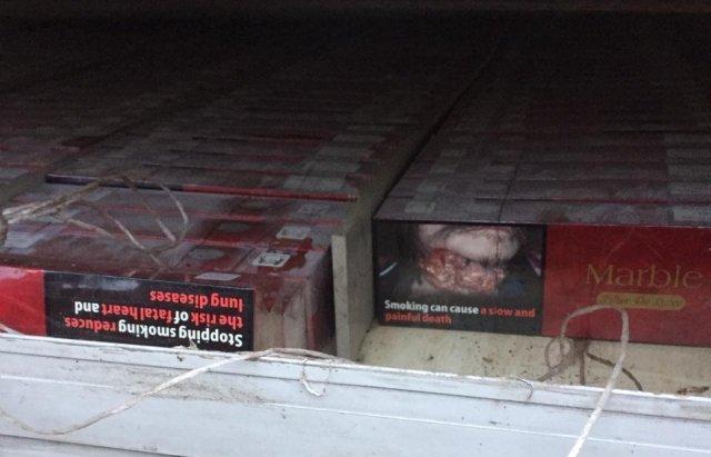 На Закарпатті затримали 43-річного чоловіка, який намагався перевезти до Румунії понад 20 тисяч пачок цигарок (ФОТО), фото-4