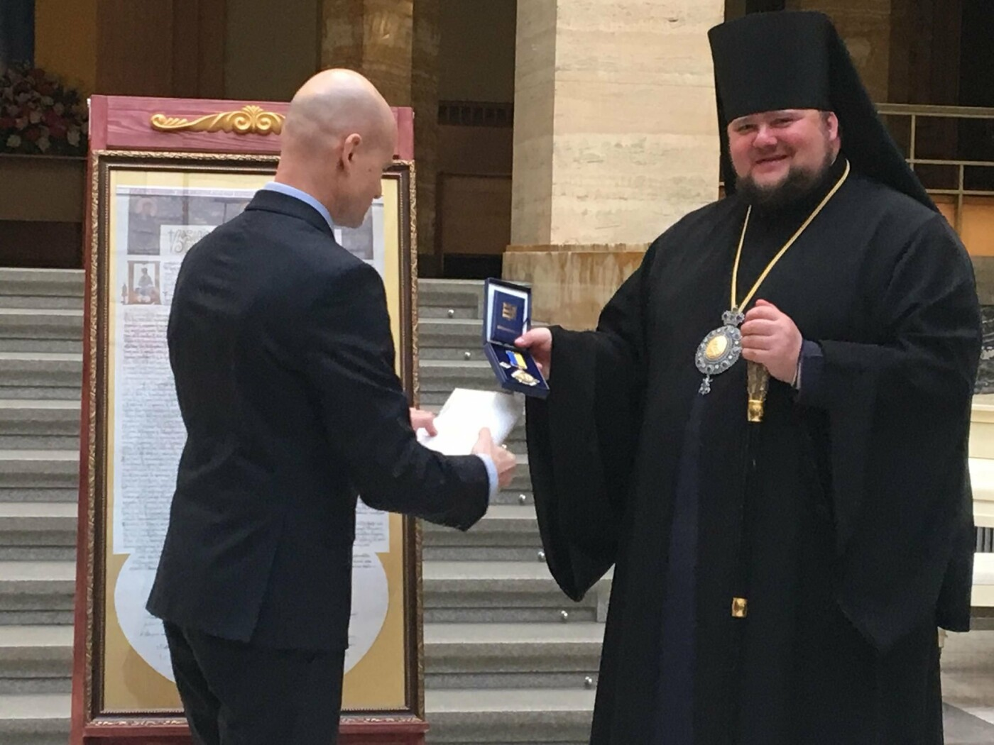 В Ужгороді презентували копiю Томосу про автокефалію Православної церкви України (ФОТО), фото-2