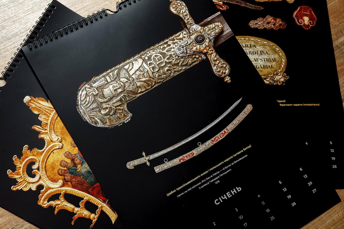 Закарпатський краєзнавчий музей уперше створив календар із коштовних експонатів (ФОТО), фото-4
