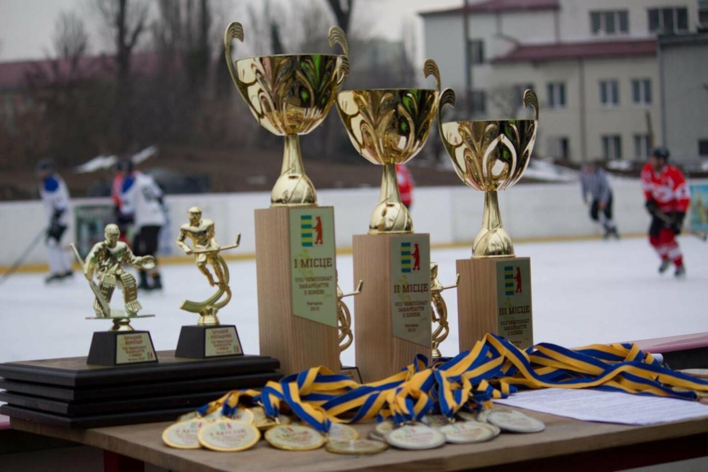 Команда з Ужгорода виборола звання чемпіонів області з хокею (ФОТО), фото-2