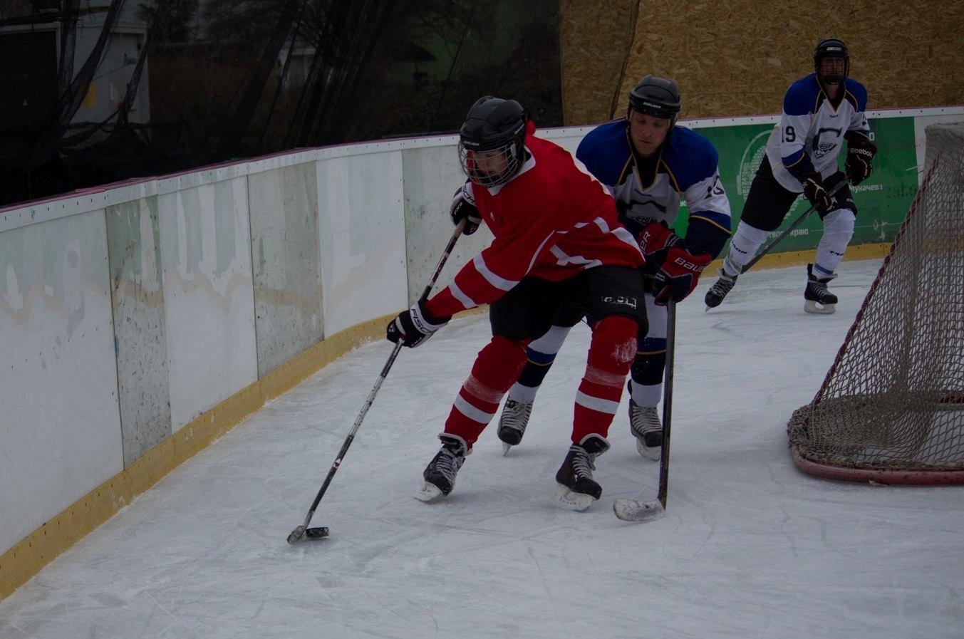Команда з Ужгорода виборола звання чемпіонів області з хокею (ФОТО), фото-8