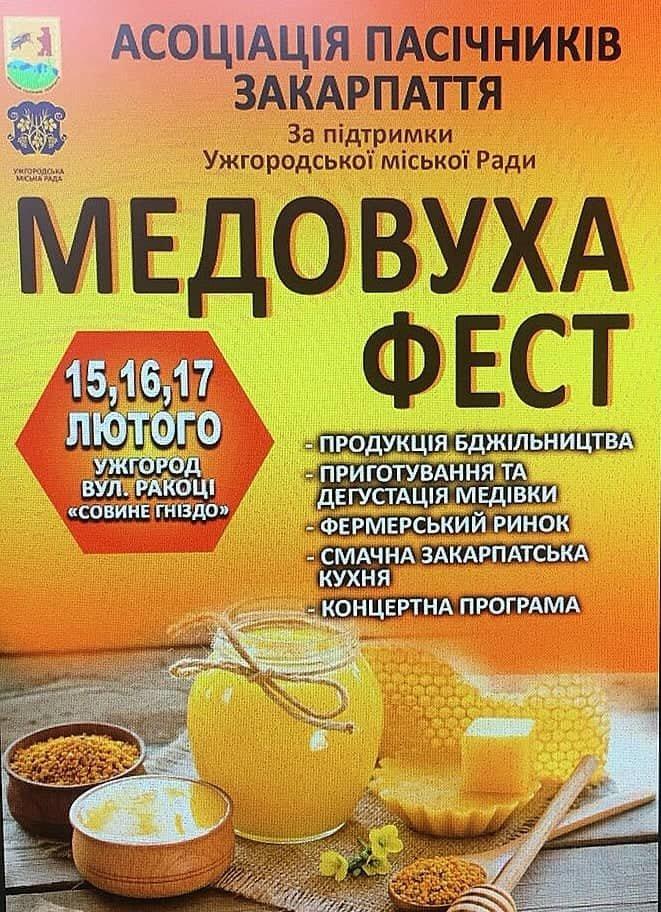 В Ужгороді 15-17 лютого пройде гастрономічний фестиваль «Медовуха Фест», фото-1