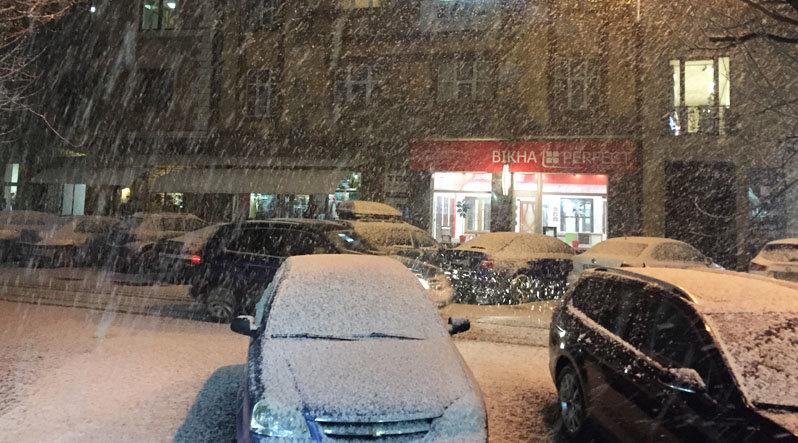 В Ужгород знов повернулась сніжна зима (ФОТО), фото-1