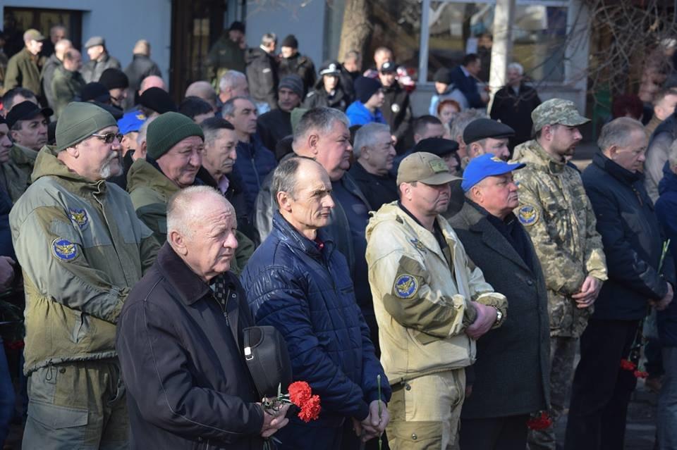В Ужгороді пройшли урочистості до 30-річчя виведення військ з Афганістану (ФОТО), фото-2