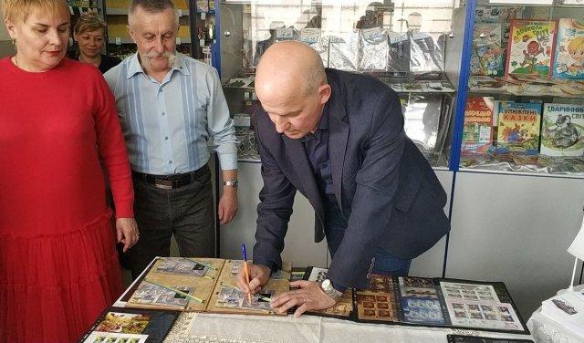 На Закарпатті представили поштову марку із зображенням видатного митця (ВІДЕО, ФОТО), фото-4